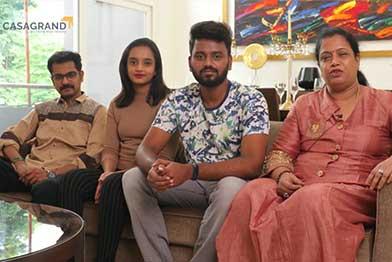 Mrs Govindarajan & Family