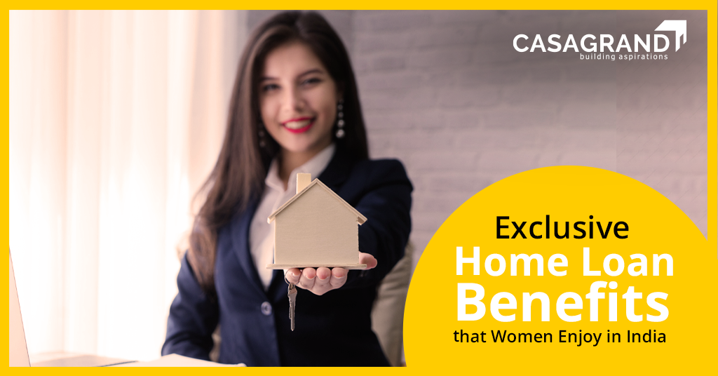 Exclusive Home Loan Benefits that Women Enjoy in India