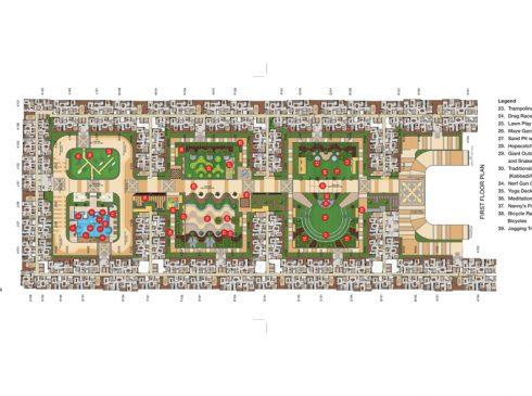 Casagrand First City - First Floor Plan