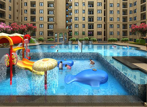 Casagrand First City Amenities - Swimming Pool View