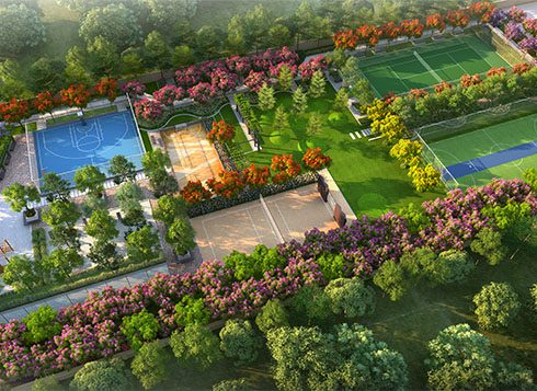 Casagrand First City Amenities - Outdoor Play Area View