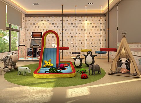 Casagrand First City Amenities - 2nd Indoor Play Area View