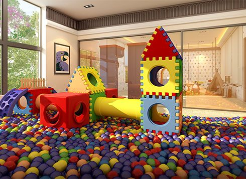 Casagrand First City Amenities - Indoor Play Area View