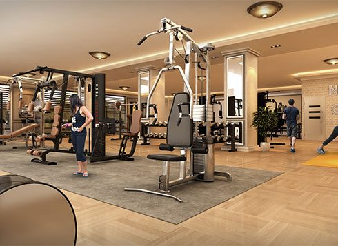 Casagrand First City Amenities - Gym View