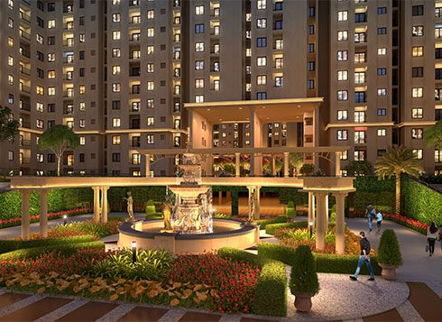 Casagrand First City Amenities - Entry Plaza View
