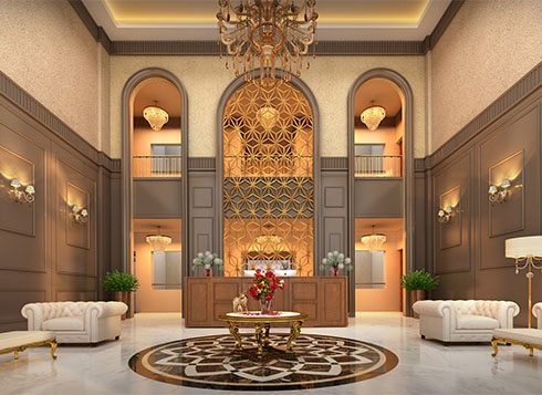 Casagrand First City Amenities - Clubhouse Lobby View