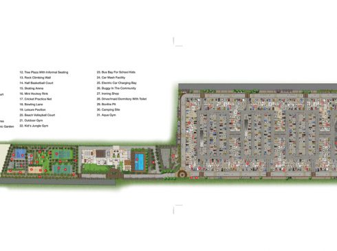 Casagrand First City - Site Plan