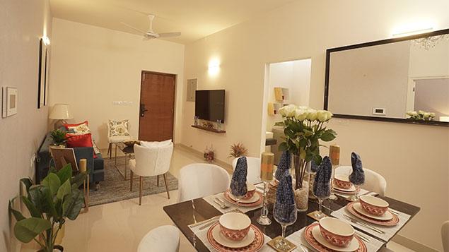3 BHK Dinning Room