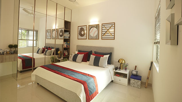 3 BHK Bedroom