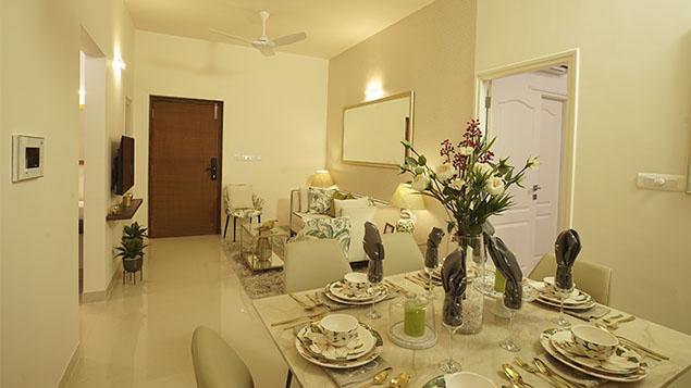2 BHK Dining Room