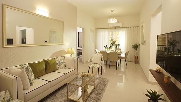 2 BHK Living Room