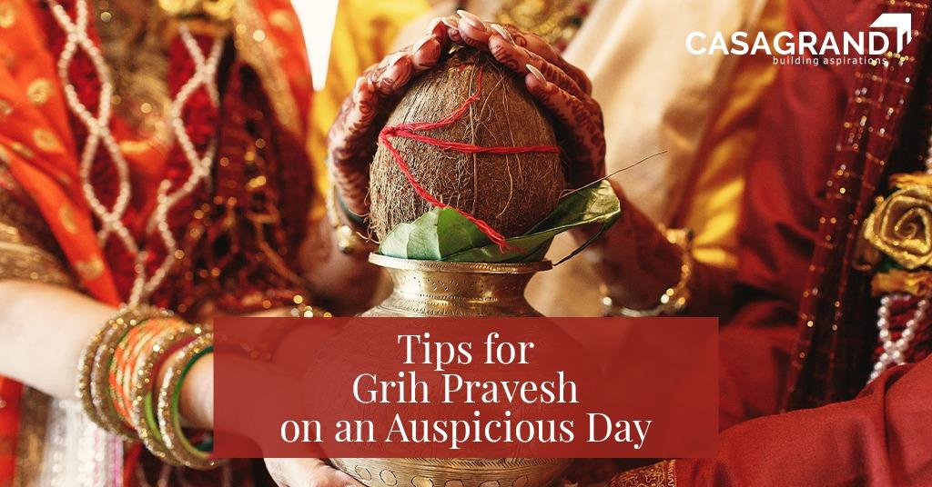 Tips for Griha Pravesh on an Auspicious Day